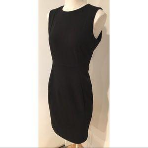 Classy Calvin Klein Black Bodycon Shift Dress